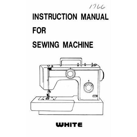 Instruction Manual, White 1766