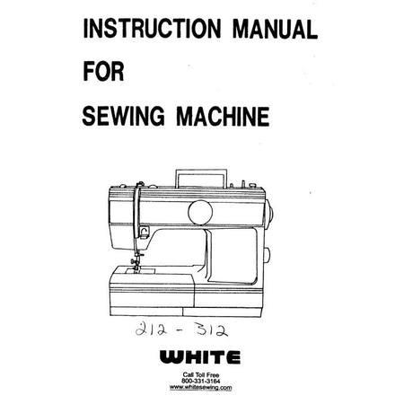 Instruction Manual, White 212