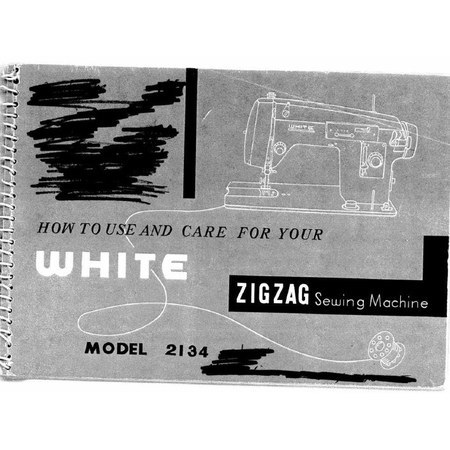 Instruction Manual, White 2134