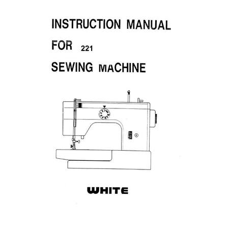 Instruction Manual, White 221
