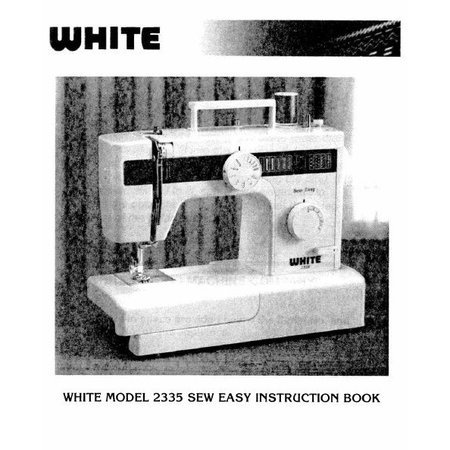 Instruction Manual, White 2335