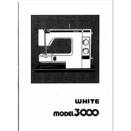 Instruction Manual, White 3000
