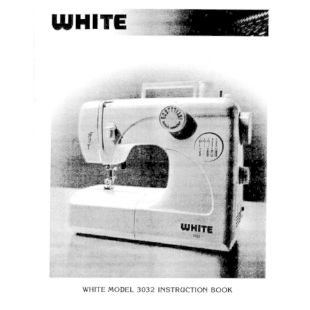 Instruction Manual, White 3032