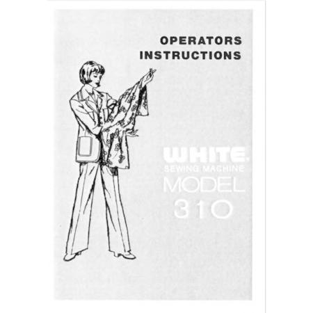 Instruction Manual, White 310