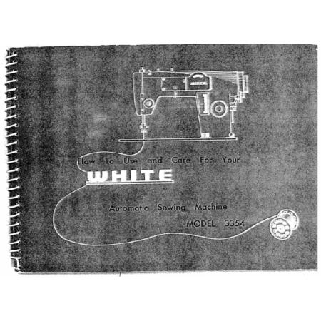 Instruction Manual, White 3354