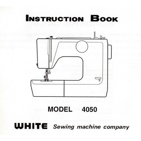 Instruction Manual, White 4050