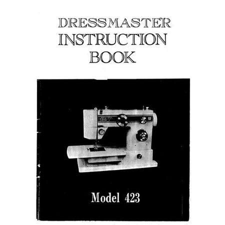 Instruction Manual, White 423