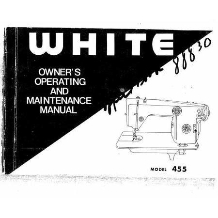 Instruction Manual, White 455