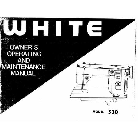 Instruction Manual, White 530