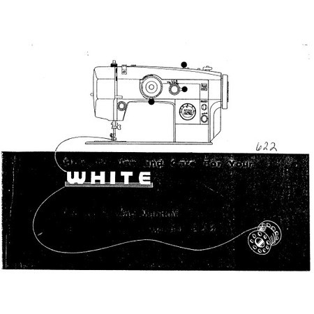 Instruction Manual White 40 Sewing Parts Online Magnificent White Sewing Machine Model 622