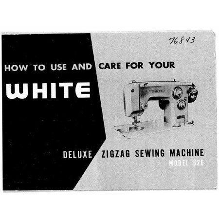 Instruction Manual, White 626