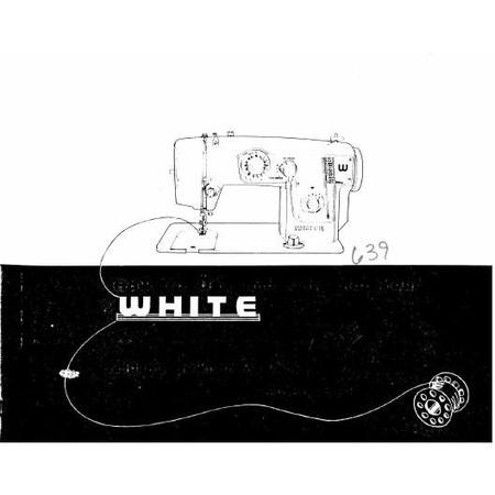 Instruction Manual, White 639