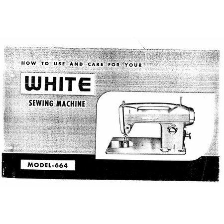 Instruction Manual, White 664