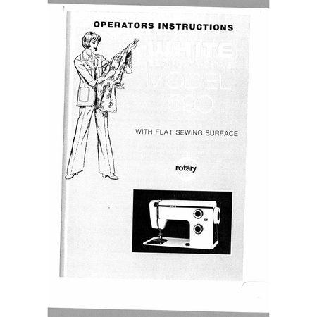 Instruction Manual, White 690
