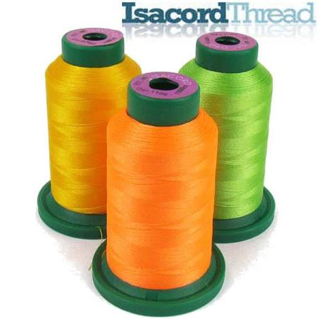 Isacord Polyester Thread, 1000m, 71 Colors Available