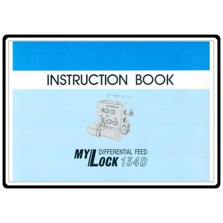 Instruction Manual, Janome 134D