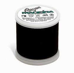 Madeira Rayon #40 Thread -  Black 1100 yds
