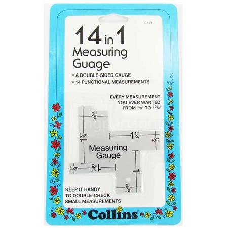 14-in-1 Measuring Gauge