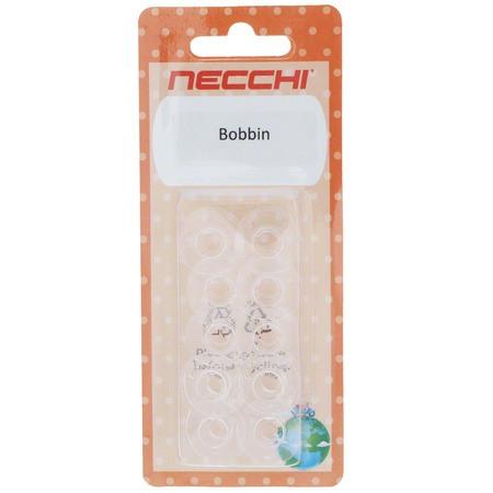Bobbins 10pk, Plastic, Necchi #NE200122647