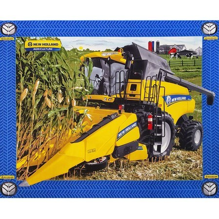 New Holland Combine Fabric Panel