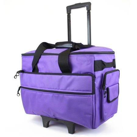 Wheeled Sewing Machine Case Bluefig TB40 Purple Sewing Parts Online Classy Sewing Machine Bags On Wheels