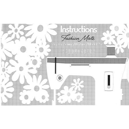 Instruction Manual, Singer 257 Fashion Mate