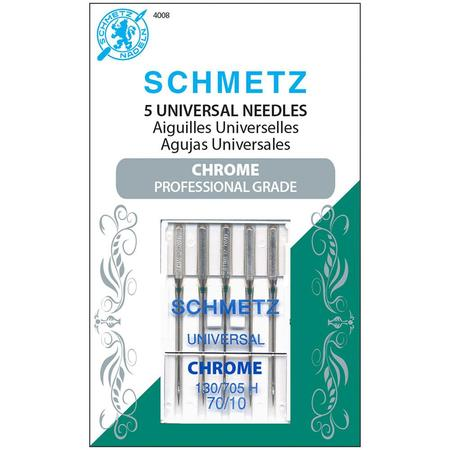 Chrome Universal Needles, Schmetz (5pk)