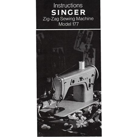 Instruction Manual, Singer 177