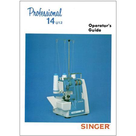 Instruction Manual, Singer 14U12