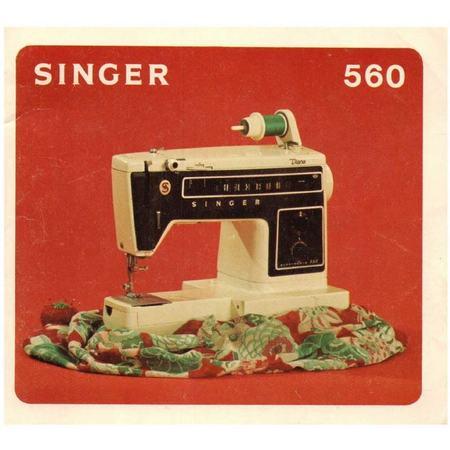 Instruction Manual, Singer 560 Diana