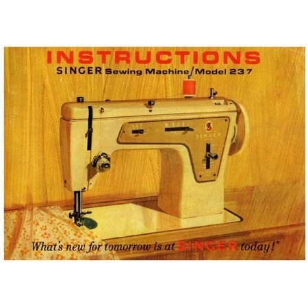 Instruction Manual Singer 40 Sewing Parts Online Awesome Singer Sewing Machine Manual