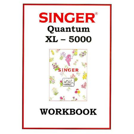 Instruction Manual, Singer XL-5000 ORIGINAL