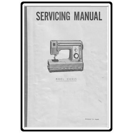 Service Manual, Janome SS2015