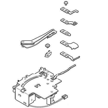 Thread Cutter Assembly, Singer #416397001