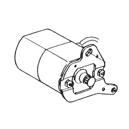 Motor Assembly 125V, Janome #505623005