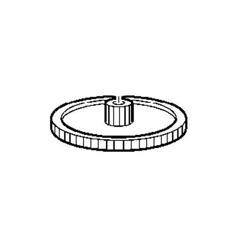 X Drive Pulley A, Brother #XC3189050