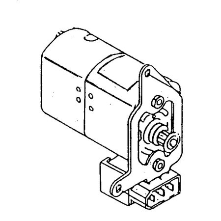 Motor, Janome (New Home) #012790115