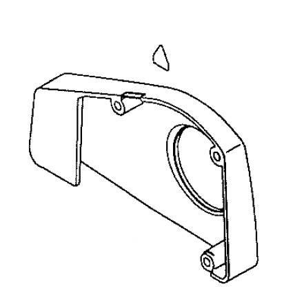 Belt Cover Assembly, Juki #13201454