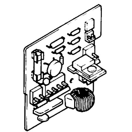Power Circuit Board, Singer #283350