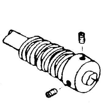 Disc Stack Driving Worm Gear, Singer #312623