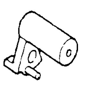 Buttonhole Cam Gear, Singer #313025