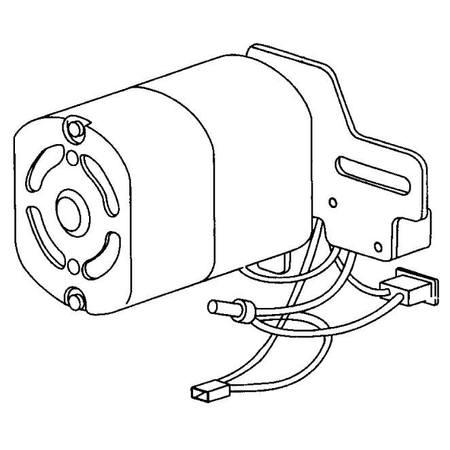 Motor Assembly (127V), Singer #369432-127
