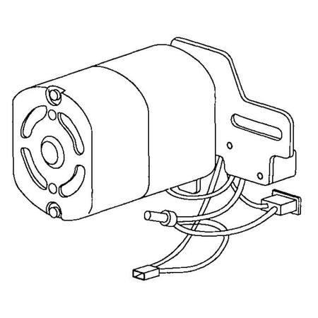 Motor (240 Volt), Singer #369433-240
