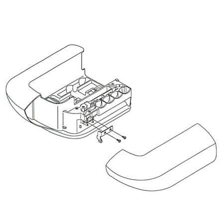 Auxiliary Bed Assembly, Singer #386965