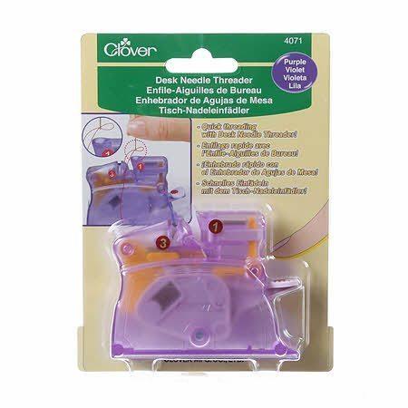 Desk Needle Threader Purple Clover #4071CV