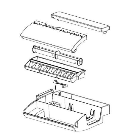 Accessory Tray Complete, Pfaff #413083903