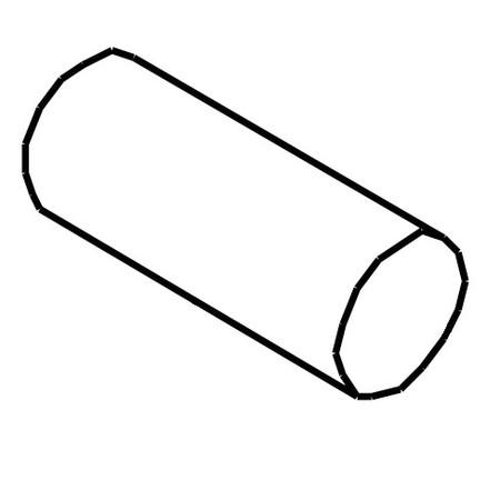 Handwheel Bushing Pin 3x10, Singer #416117501