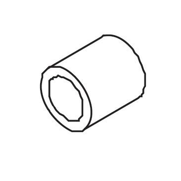 Dial Tension Guide Spring Tube, Singer #416151701