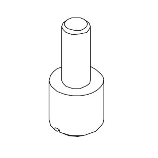 Base Plate Adjustment Screw, Singer #416154601