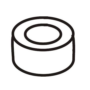 Ball Bushing Socket, Singer #507379-001